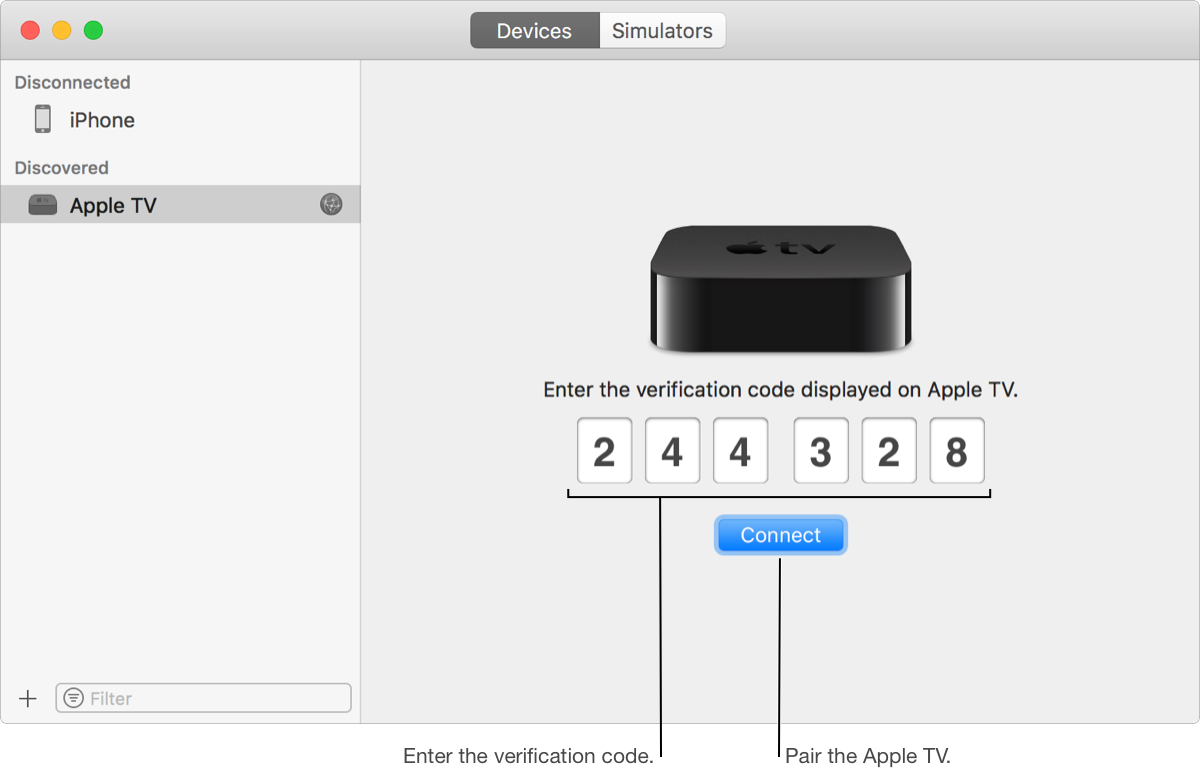 MAC/VMWARE] Install apps on Apple TV wirelessly without USB